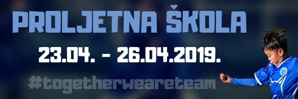 PROLJETNA ŠKOLA 23.04. - 26.04.2019 2